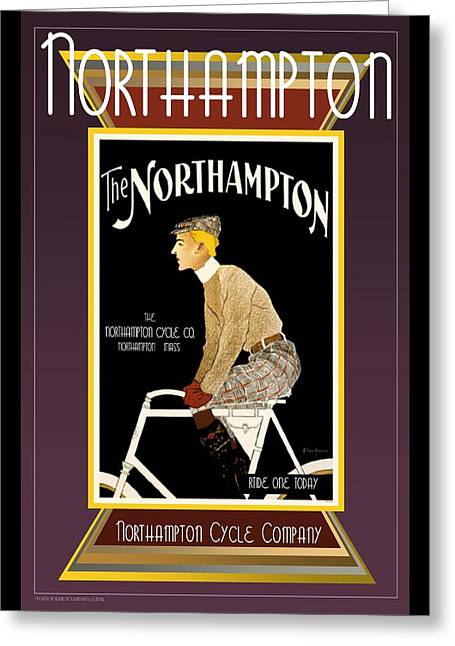Northampton Greeting Cards - Northampton Greeting Card by Steven Boland