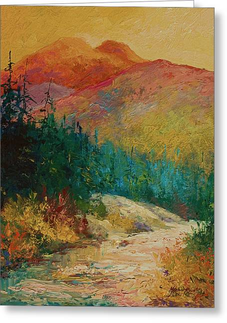 Northern Essence  Greeting Card by Marion Rose