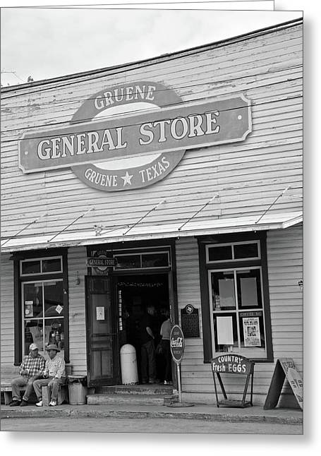 Historic Country Store Greeting Cards - Nostalgic 9 Greeting Card by Teresa Blanton