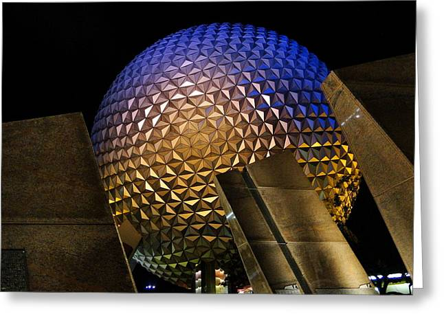 Wdw Greeting Cards - Not A Golf Ball Greeting Card by Joetta West