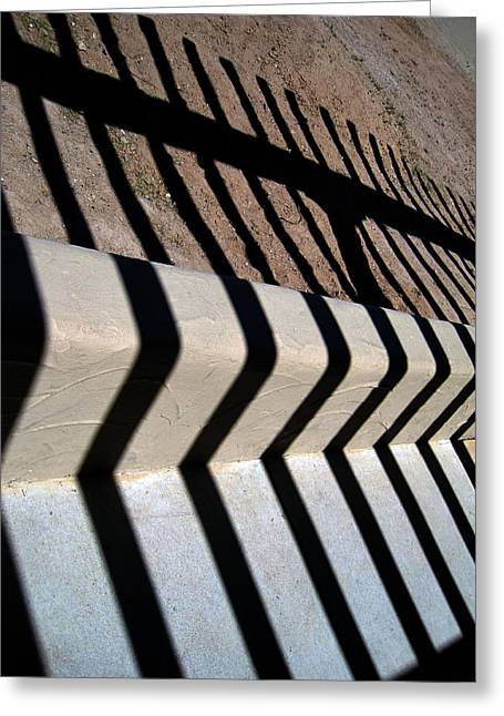 Not A Zebra Greeting Card by Susanne Van Hulst