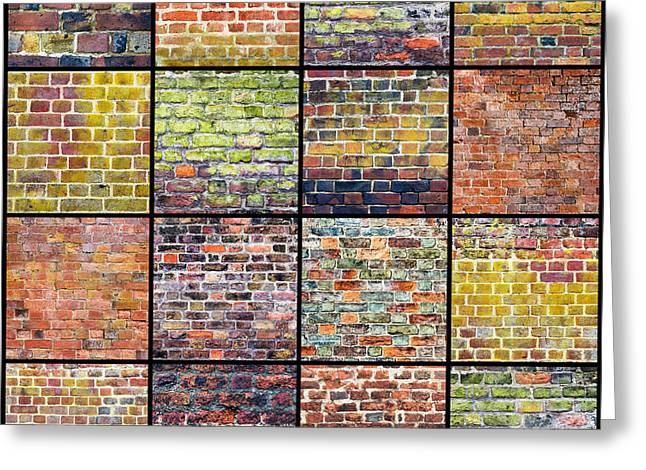 Not Just A Brick In The Wall Greeting Card by Tim Gainey
