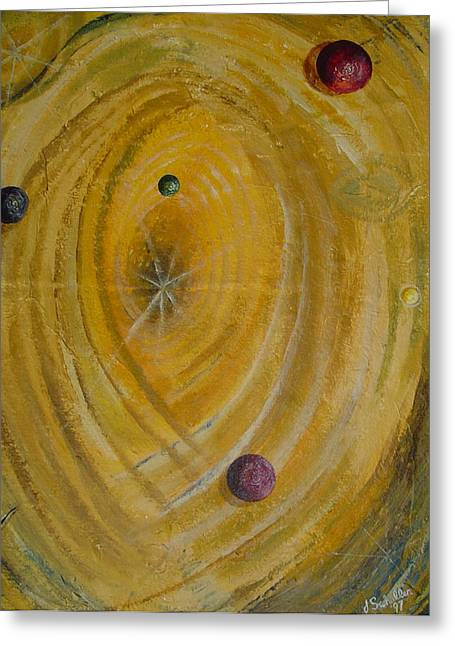 John Schuller Greeting Cards - Not Kansas Greeting Card by John Schuller