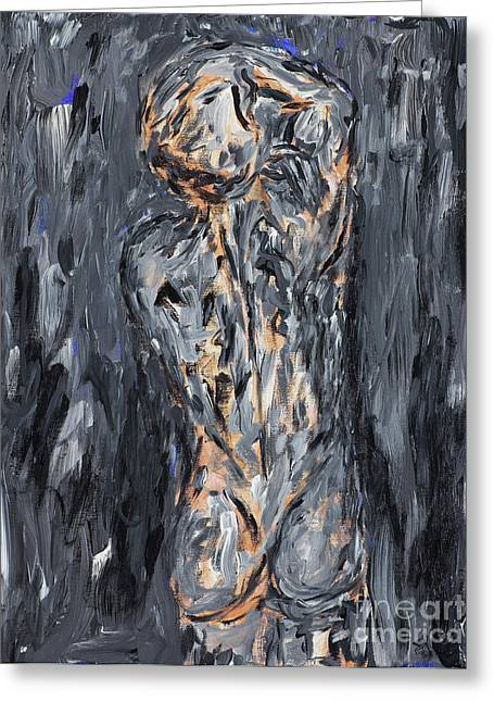 Dismay Paintings Greeting Cards - Nothing Is Everything  Greeting Card by Samir Patel