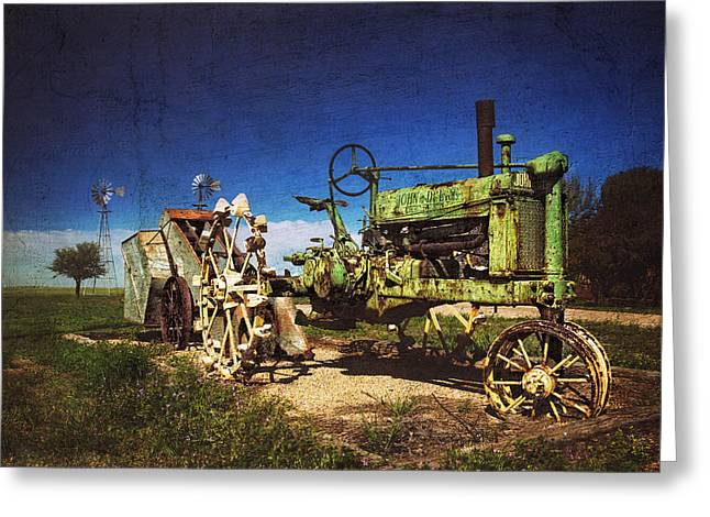 Best Seller Greeting Cards - Nothing Runs Like a Deere Greeting Card by Ken Smith