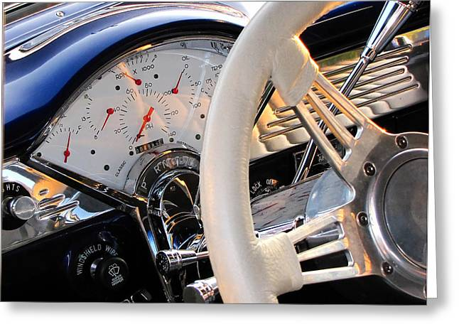 Muscle Greeting Cards - Now Thats A Dashboard Greeting Card by Gary Adkins
