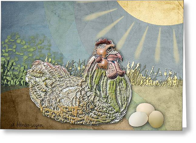 Now What.... Greeting Card by Arline Wagner