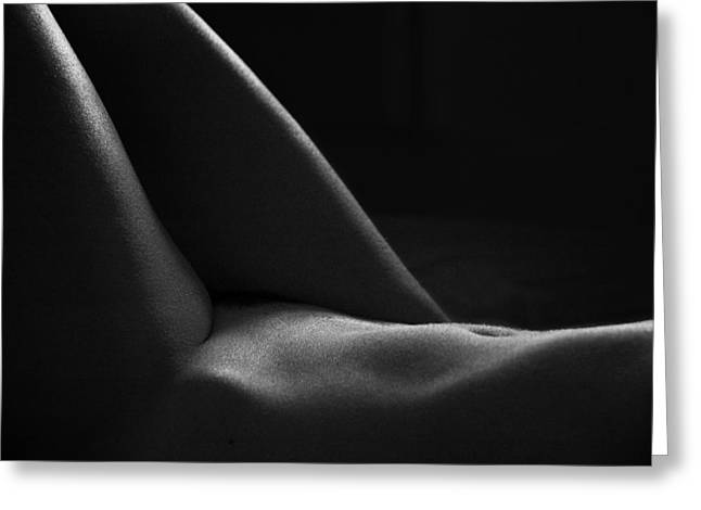Best Sellers -  - Light And Dark Greeting Cards - Nude - II Greeting Card by Ilker Goksen