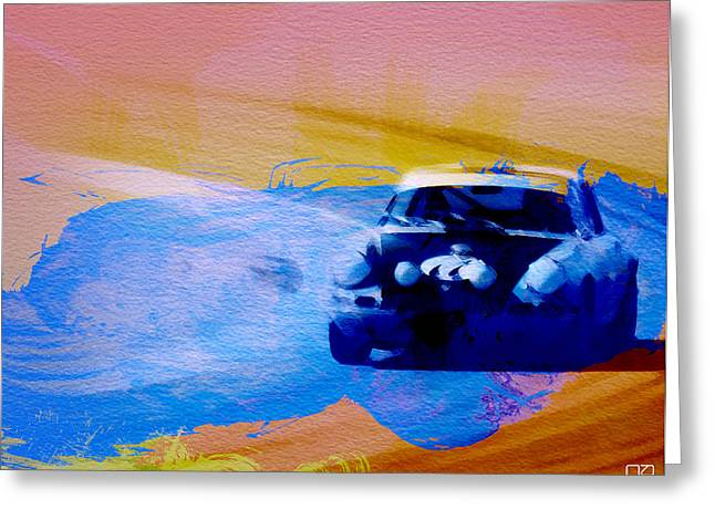 Car Shows Greeting Cards - Number 49 Porshce Greeting Card by Naxart Studio