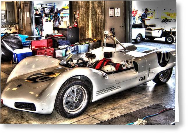 Indy Car Greeting Cards - Nurburgring Greeting Card by Jonathan Williams