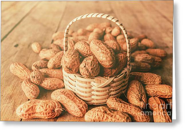 Nut Basket Case Greeting Card by Jorgo Photography - Wall Art Gallery