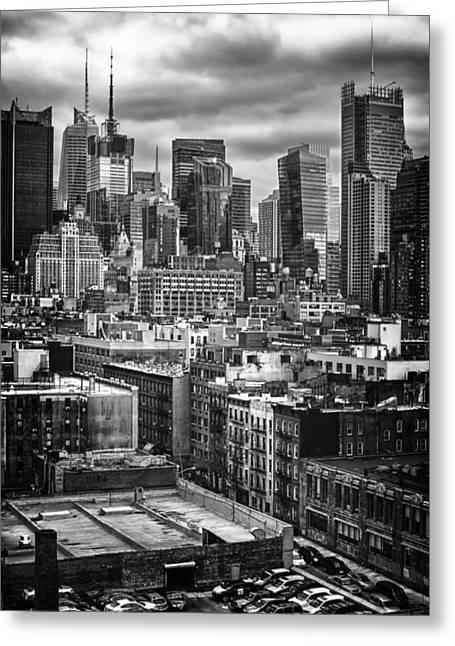 NYC Greeting Card by Mauricio Jimenez