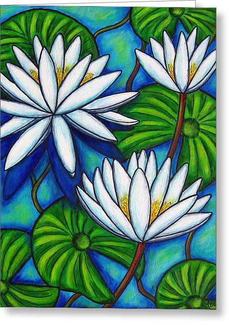 Lisa Lorenz Greeting Cards - Nymphaea Blue Greeting Card by Lisa  Lorenz