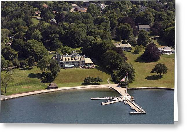 Nyyc Newport Greeting Card by Duncan Pearson