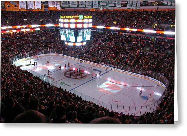 Boston Stadium Greeting Cards - O Canada Greeting Card by Juergen Roth