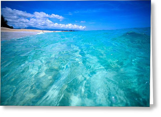Oahu, North Shore Greeting Card by Vince Cavataio - Printscapes