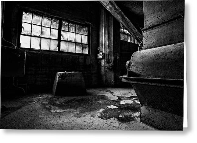 Nik Silver Efex 2 Greeting Cards - Obscurity Greeting Card by CJ Schmit