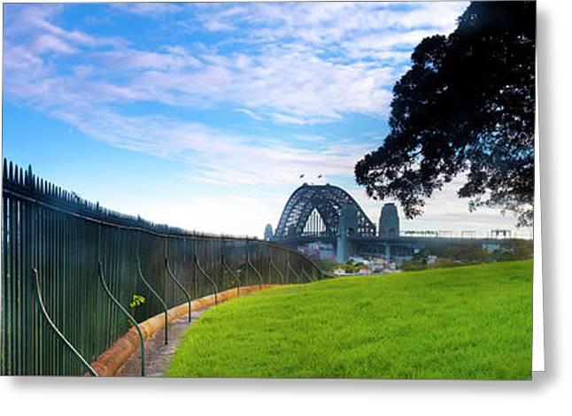 Observatory Hill - Sydney Greeting Card by Sean Davey