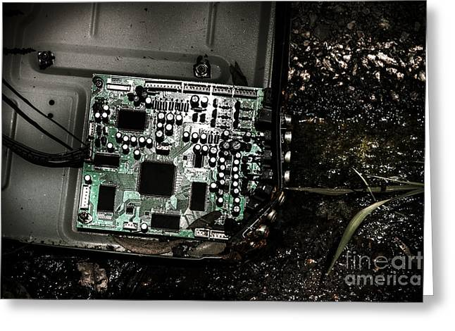 Obsolete Technology Greeting Card by Jorgo Photography - Wall Art Gallery