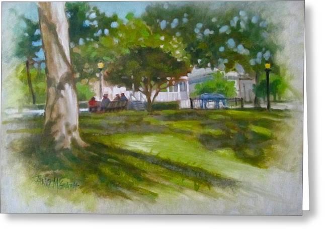 Janet Mcgrath Greeting Cards - Ocala Park FL Greeting Card by Janet McGrath