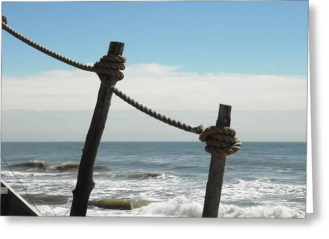 Ocean Art Photos Greeting Cards - Ocean 36 Greeting Card by Joyce StJames