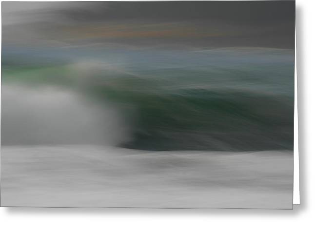 Art For The Home Greeting Cards - Ocean Breeze Greeting Card by Donna Blackhall