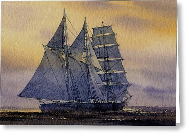 Ocean Dawn Greeting Card by James Williamson