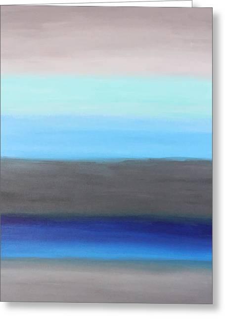 Ocean Floor Greeting Card by Rachel Follett