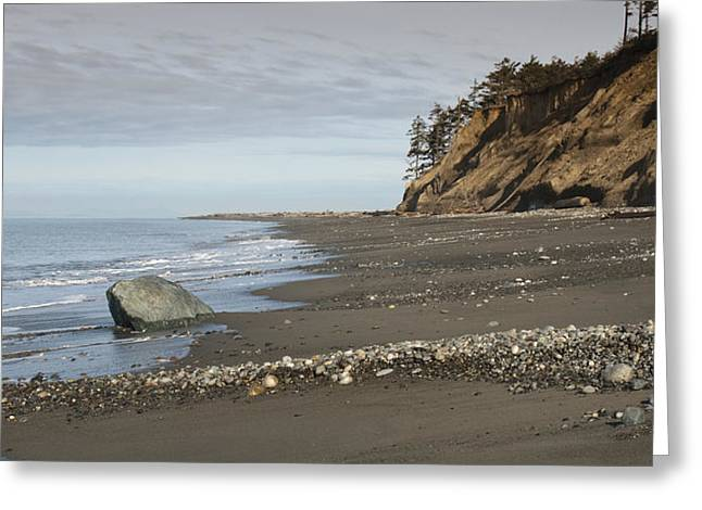 Juan De Fuca Greeting Cards - Ocean Front View Greeting Card by Chad Davis