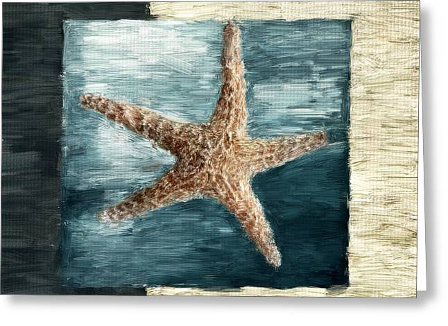 Starfish Greeting Cards - Ocean Gem Greeting Card by Lourry Legarde
