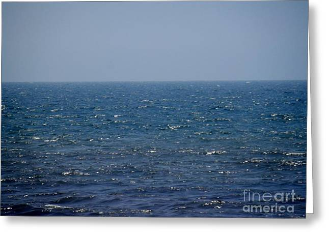 Ocean Shore Greeting Cards - Ocean Greeting Card by Hammel