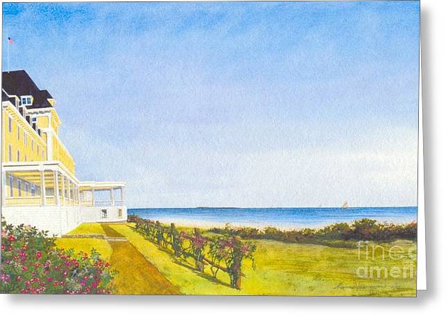 Ocean House Watch Hill Rhode Island Painting By Tom Jennerwein