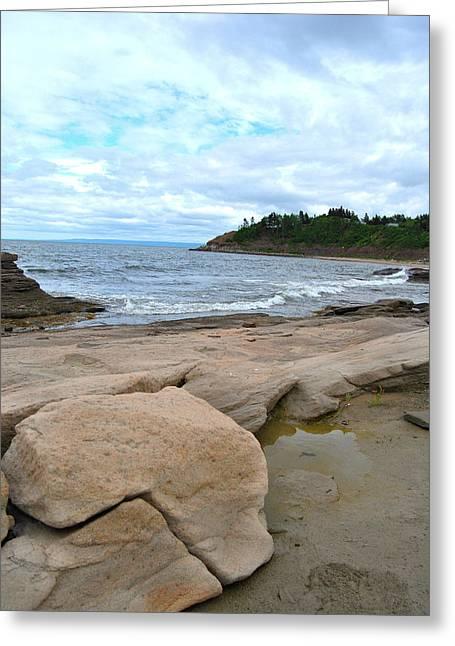 Ocean Art Photography Greeting Cards - Ocean Rocks Greeting Card by Kathleen Sartoris