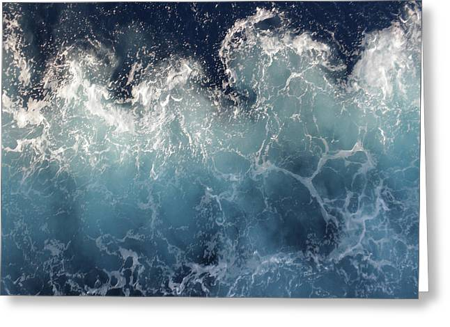 Ocean Spray Greeting Card by Suzanne Carter