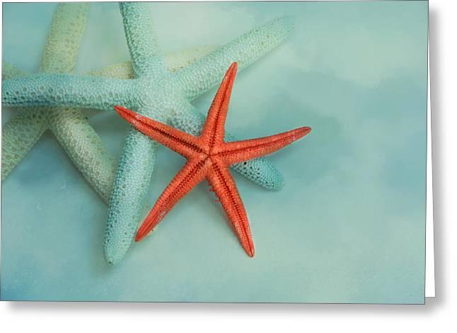 Ocean Treasures Greeting Card by Jai Johnson