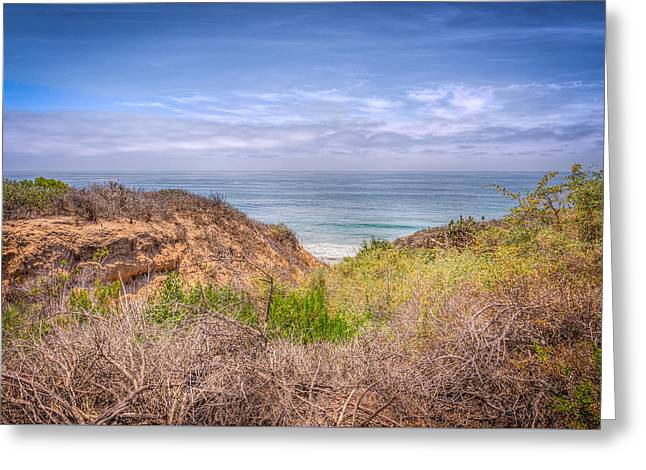 California Beaches Greeting Cards - Ocean View Greeting Card by Spencer McDonald