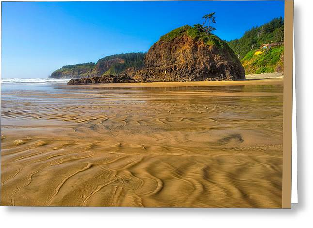 River View Greeting Cards - Oceanside State Park  Greeting Card by Drew Castelhano