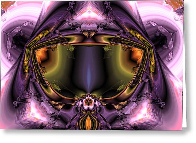 Algorithmic Abstract Greeting Cards - Ocf 508 Greeting Card by Claude McCoy