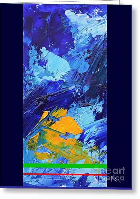Joy Of The Lord Greeting Cards - Blue Passage Greeting Card by Philip Jones