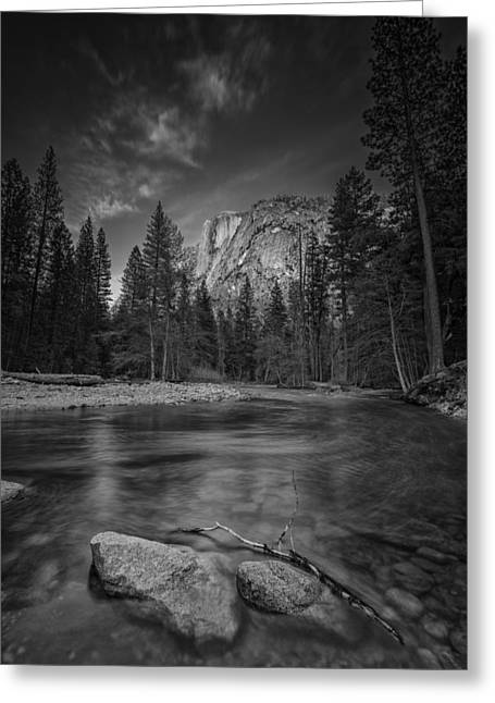 Half Dome Greeting Cards - Ode To Ansel Adams Greeting Card by Rick Berk