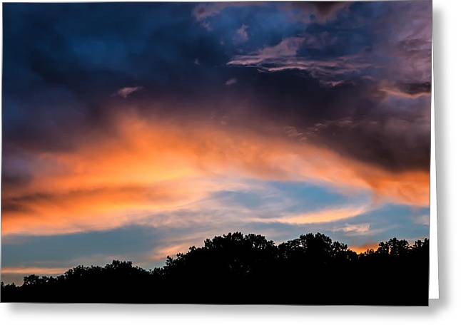 Catonsville Greeting Cards - Oella Sunset Greeting Card by Geoffrey Baker
