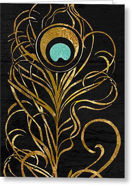 Peafowl Greeting Cards - Of A Feather  Greeting Card by Mindy Sommers