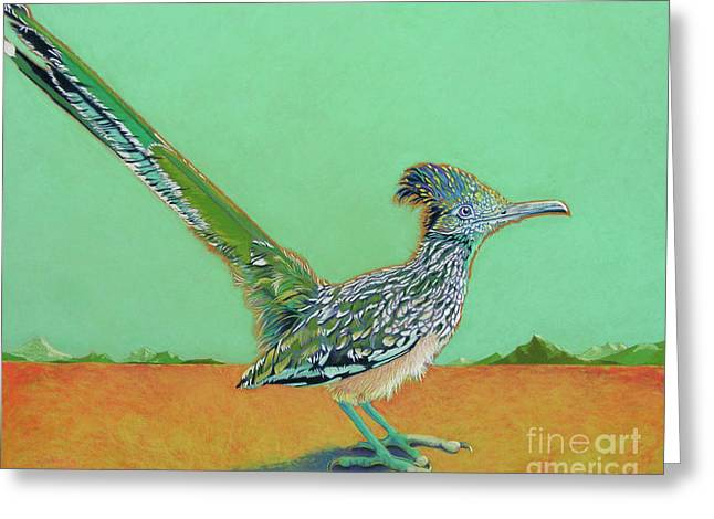 Hunter Pastels Greeting Cards - Of Two Minds Greeting Card by Tracy L Teeter