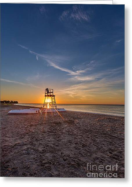 Beach Greeting Cards - Off Gaurd Greeting Card by Andrew Slater