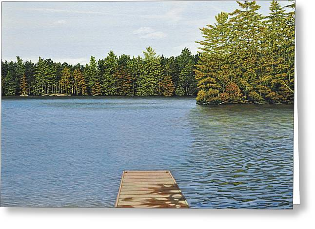 Off The Dock Greeting Card by Kenneth M  Kirsch