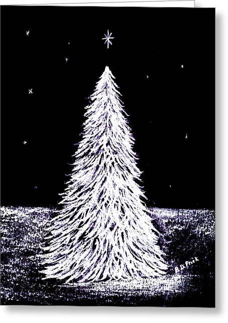 Wishes Pastels Greeting Cards - Oh Christmas Tree Greeting Card by Diane Frick