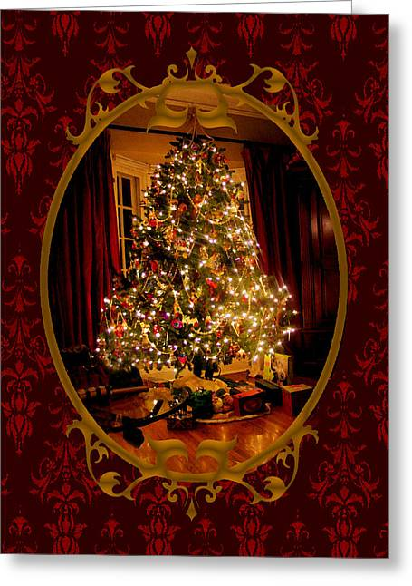Christmas Eve Greeting Cards - Oh Christmas Tree Greeting Card by Susan Vineyard