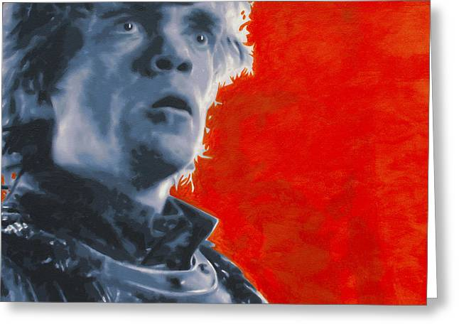 Up And Coming Greeting Cards - Tyrion Lannister Greeting Card by Luis Ludzska