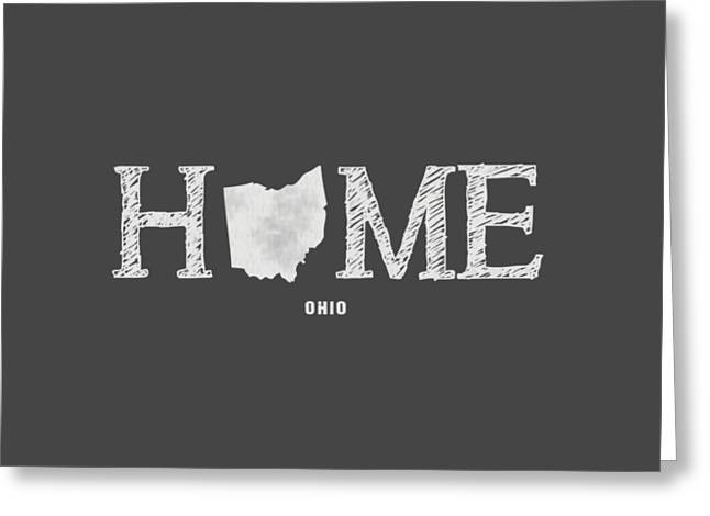 University Of Cincinnati Greeting Cards - OH Home Greeting Card by Nancy Ingersoll