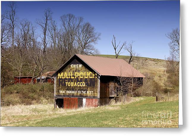 Ohio: Barn, 2009 Greeting Card by Granger